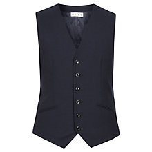 Buy Reiss Martino Textured Waistcoat, Navy Online at johnlewis.com