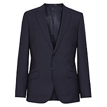 Buy Reiss Martino Textured Suit Jacket, Navy Online at johnlewis.com