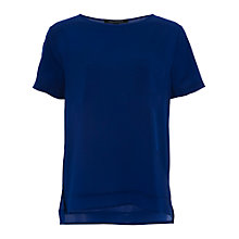 Buy French Connection Polly Plain Pocket T-Shirt Online at johnlewis.com