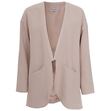 Buy French Connection Emma Crepe Coat, Barley Sugar Online at johnlewis.com