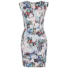 Buy French Connection Isla Ripple Dress, Day Dream Multi Online at johnlewis.com