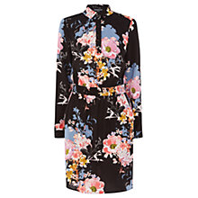 Buy Warehouse Garden Floral Shirt Dress, Multi Online at johnlewis.com