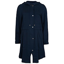 Buy French Connection Santa Fe Drape Jacket, Nocturnal Online at johnlewis.com