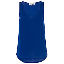 Buy French Connection Polly Plain Vest Top Online at johnlewis.com