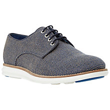 Buy Dune Bishop Canvas Lace Up Shoes Online at johnlewis.com