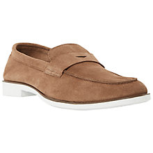 Buy Dune Benji Suede Penny Loafers Online at johnlewis.com