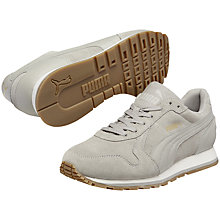 Buy Puma Runner Suede Trainers, Grey Online at johnlewis.com