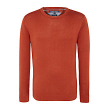 Buy Tommy Hilfiger Finn Crew Neck Jumper Online at johnlewis.com