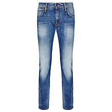 Buy Tommy Hilfiger Denton Slim Jeans, Indigo Crestridge Online at johnlewis.com