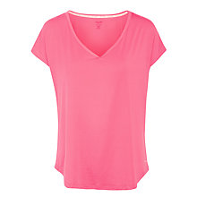 Buy Calvin Klein Jersey Pyjama Top, Pink Online at johnlewis.com