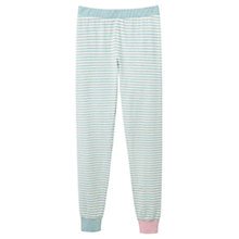 Buy Joules Lou Stripe Pyjama Leggings, Blue Online at johnlewis.com