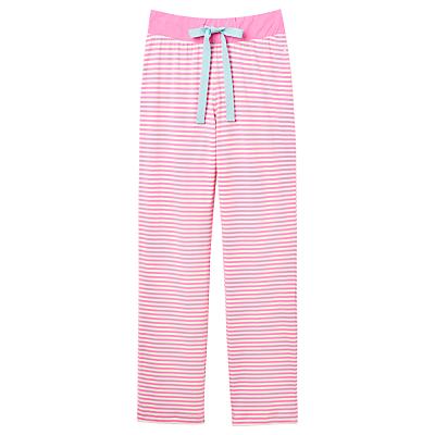Joules Cora Stripe Pyjama Pants, Pink