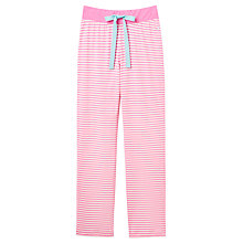 Buy Joules Cora Stripe Pyjama Pants, Pink Online at johnlewis.com