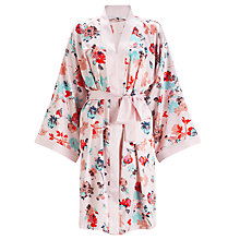 Buy John Lewis Wild Floral Kimono Robe, Multi Online at johnlewis.com
