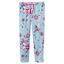 Buy Joules Fleur Floral Pyjama Pants, Blue Online at johnlewis.com