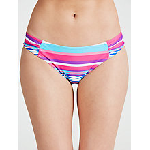 Buy John Lewis California Stripe Bikini Briefs, Multi Online at johnlewis.com