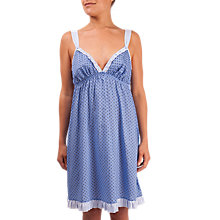 Buy Cyberjammies Melissa Print Chemise, Blue Online at johnlewis.com