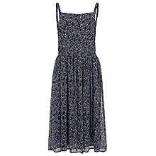 Buy French Connection Confetti Grid Dress, Black Multi Online at johnlewis.com