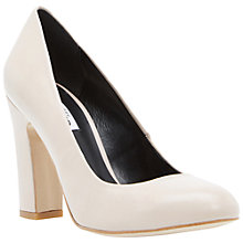 Buy Dune Aubree Court Shoes, Blush Online at johnlewis.com