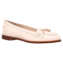 Buy Miss KG Neena Leather Patent Bar Detail Flat Loafers Online at johnlewis.com