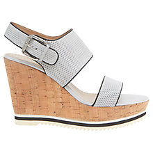 Buy Mint Velvet Venus Wedge Heeled Sandals, Stone Online at johnlewis.com