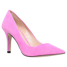 Buy Carvela Anastasia Suede Court Shoes, Pink Online at johnlewis.com