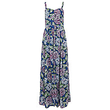 Buy French Connection Bonita Maxi Dress, Monarch Blue Online at johnlewis.com