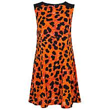 Buy French Connection Leo Leopard Jersey Dress, Calypso Multi Online at johnlewis.com