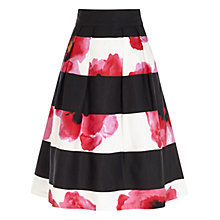 Buy Coast Milana Stripe Skirt, Multi Online at johnlewis.com
