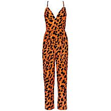 Buy French Connection Leo Leopard Jumpsuit Online at johnlewis.com