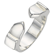 Buy Jessie Harris Sterling Silver Cast Ring, SIiver Online at johnlewis.com