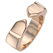 Buy Jessie Harris Medium Cast Ring, Rose Gold Online at johnlewis.com