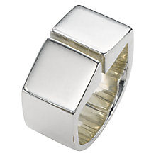 Buy Jessie Harris Sterling Silver Statement Ring, Silver Online at johnlewis.com