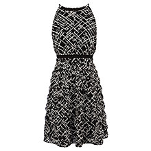 Buy Coast Petite Anya Dress, Mono Online at johnlewis.com