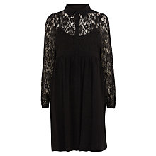 Buy Coast Alix Shirt Dress, Black Online at johnlewis.com