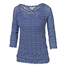 Buy Fat Face Filey Crochet Top Online at johnlewis.com