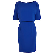 Buy Coast Taylie Crepe Dress, Cobalt Blue Online at johnlewis.com
