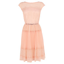 Buy Coast Lori Issy Dress, Blush Online at johnlewis.com