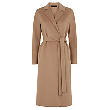 Buy Jaeger Double Faced Trench Coat, Ginger Snap Online at johnlewis.com