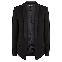 Buy Jaeger Contemporary Tailored Jacket, Black Online at johnlewis.com