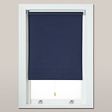 Buy little home at John Lewis Blackout Roller Blind, Marine Online at johnlewis.com