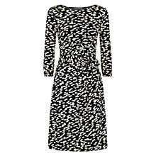 Buy Hobbs Melinda Dress, Black Stone Online at johnlewis.com