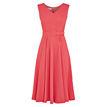 Buy Hobbs Sidra Pintuck Dress Online at johnlewis.com