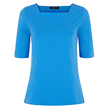 Buy Jaeger Regatta Side Panelled Top, Blue Online at johnlewis.com