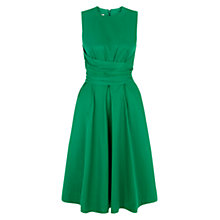 Buy Hobbs Twitchill Dress, Lawn Green Online at johnlewis.com