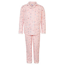 Buy John Lewis Girl Vintage Blossom Pyjamas, Blush Online at johnlewis.com