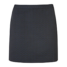 Buy Ted Baker Ottoman Jacquard Suit Skirt, Blue Online at johnlewis.com