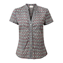 Buy East Anokhi Floral Print Blouse, Soft Celdo Online at johnlewis.com