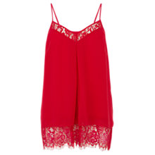 Buy Coast Cosmo Cami, Hot Pink Online at johnlewis.com