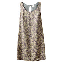 Buy East Victoire Rosetti Dress, Slate Online at johnlewis.com
